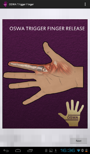 OSWA Trigger Finger App