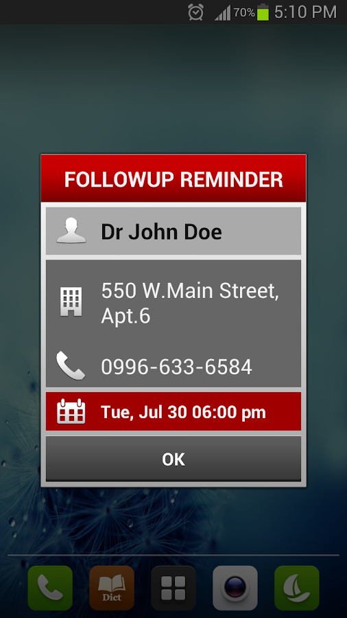 Medica Reminder Pill Organizer - screenshot