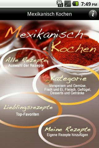 iKochen Mexikanisch- screenshot