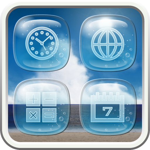 BEACH Icon 個人化 App LOGO-硬是要APP