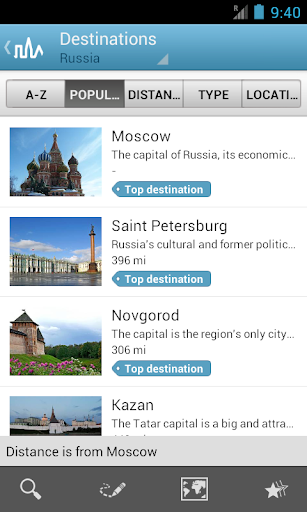 Russia Travel Guide by Triposo