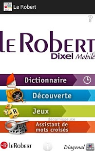 Dictionnaire Le Robert Mobile – Vignette de la capture d'écran