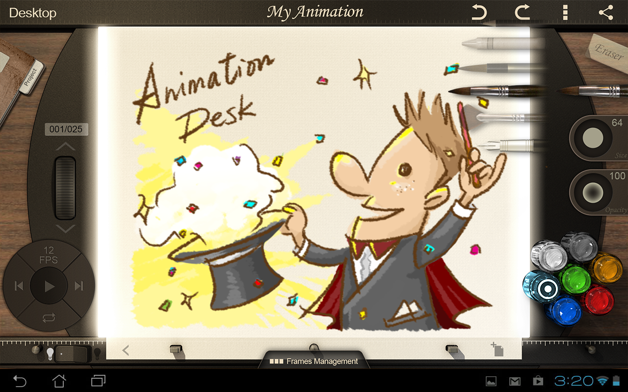 Animation Desk Premium - screenshot