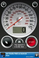 Screenshot of GPS Speed Free