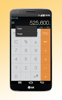 Screenshot of Calculator Without Equals