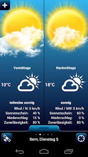 Weather for Switzerland PRO - screenshot thumbnail