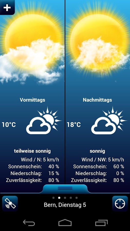 Weather for Switzerland PRO - screenshot