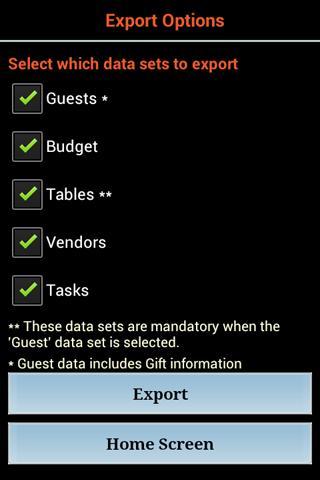 Wedding Planner Premium- screenshot