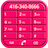 Pink Dialer mobile app icon