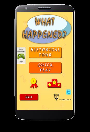 What Happened - Trivia