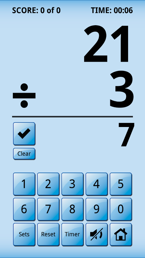 Math Whiz Flash Cards- screenshot