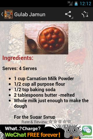 Indian recipe book android apps on google play indian recipe book screenshot forumfinder Choice Image