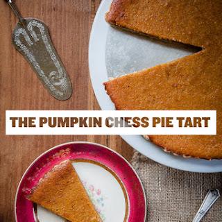 Pumpkin Chess Pie Tart