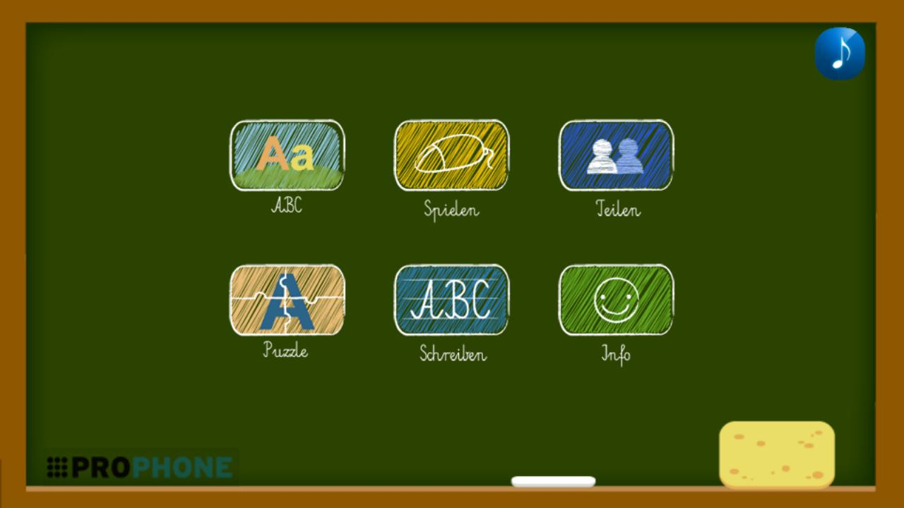 Literki ABC-Lernprogramm- screenshot