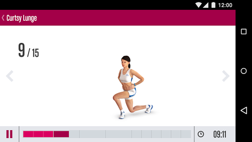 Runtastic Butt Trainer臀部训练软件