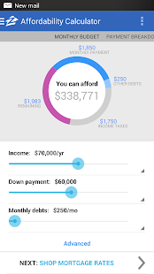 Zillow Mortgage Calculator - screenshot thumbnail