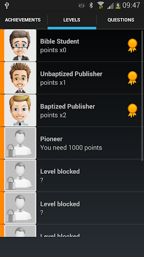 Trivia for Jehovah's Witnesses 2.2.36 screenshots 3