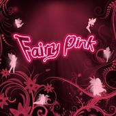 Fairy Pink Go Sms Theme