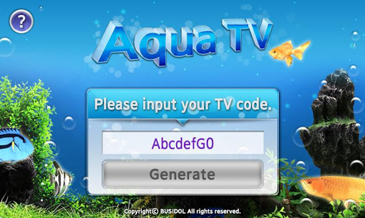 AquaTV Mobile for SmartTV
