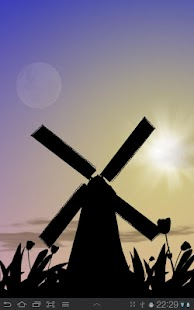 Tulip Windmill Live Wallpaper- screenshot thumbnail