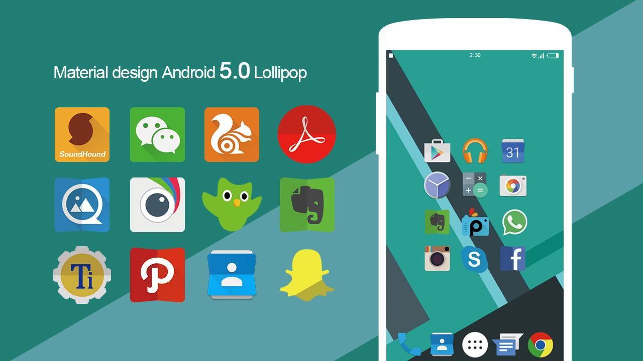 Lollipop Theme - Icon Pack,