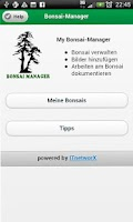 Screenshot of Bonsai App free