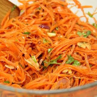 Korean Carrot Salad.