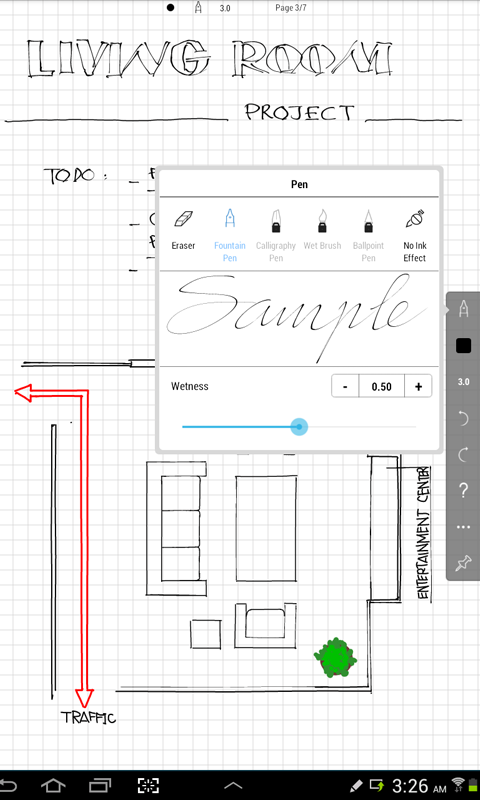 INKredible - Handwriting Note - screenshot