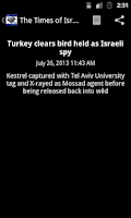 Screenshot of Israeli News English