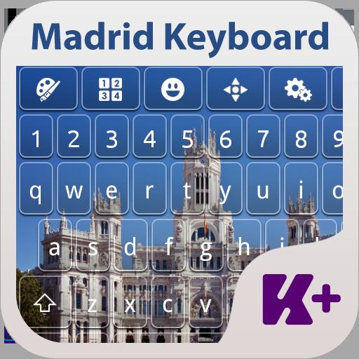 马德里键盘主题 個人化 App LOGO-APP開箱王