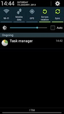 Task Manager Note 2 Shortcut for Samsung Galaxy Note II and Galaxy S III