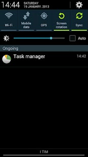 Task Manager Note 2 Shortcut- screenshot thumbnail