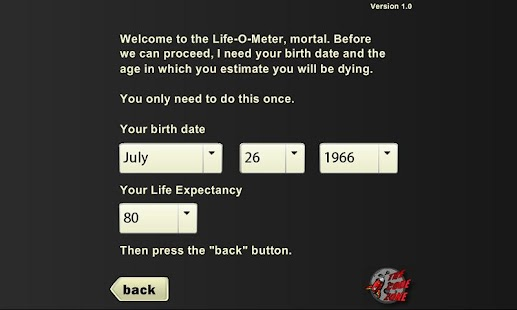 Life-O-Meter - screenshot thumbnail