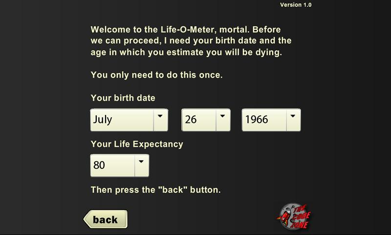 Life-O-Meter- screenshot