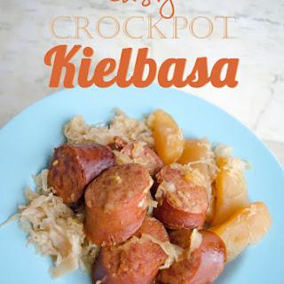 Easy Crock Pot Kielbasa.
