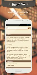 Kosakata Indonesia - screenshot thumbnail