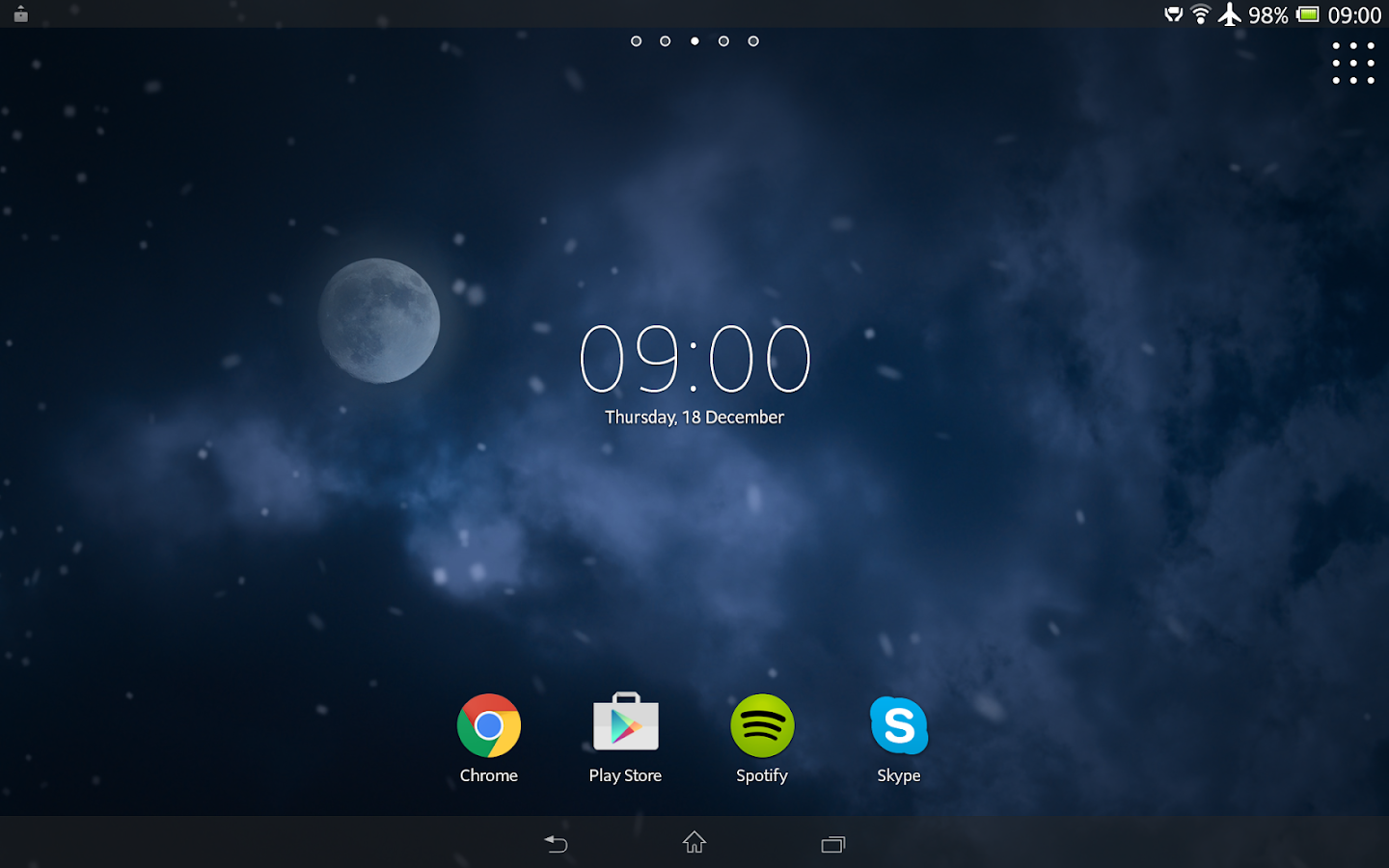 diggin winter live wallpaper android apps on google play