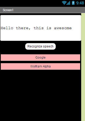 Speech Recognition Search