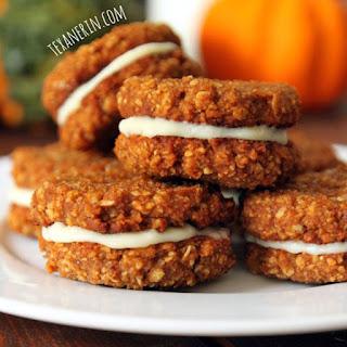 Gluten-free Chewy Pumpkin Cookies