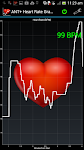 screenshot of ANT+ Heart Rate Grapher