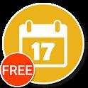 Calendar Widget+Status FREE icon