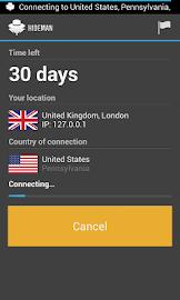 Hideman VPN Screenshot 2
