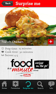 Food in a Minute®- screenshot thumbnail