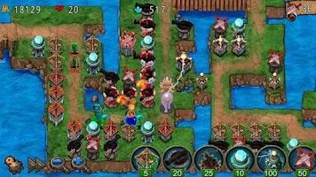 Screenshot of Empire defense (Deluxe)