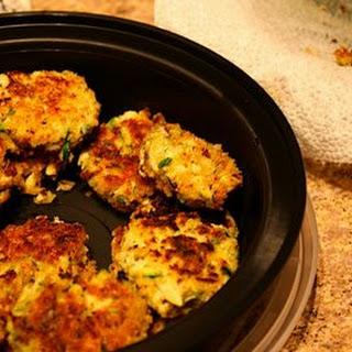 Zucchini Tofu Croquettes.