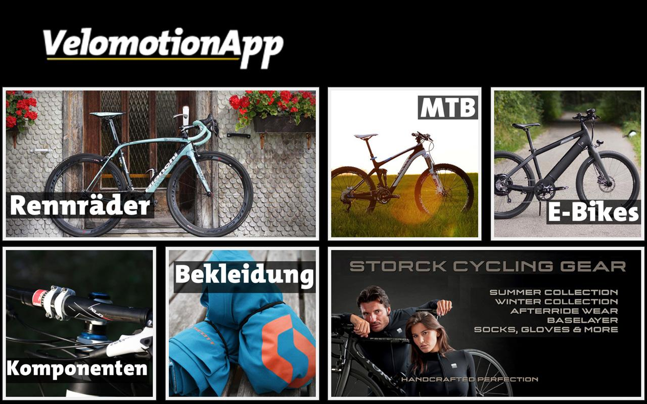 Velomotion Fahrrad-News- screenshot