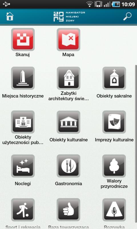 Nawigator Żory- screenshot