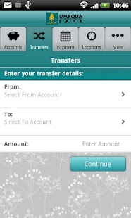 Umpqua Mobile Banking - screenshot thumbnail