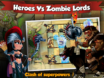 Clash of Humans and Zombies