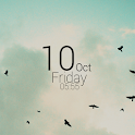 UCCW Minimal Clock 2 (Black) icon